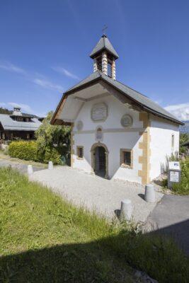 Chapelle des Plans, Saint-Gervais © Vincent Jacques - Drône de Regard (7)