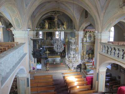 Hauteluce, Eglise Saint-Jacques-d'Assyrie © MCT - fondation-facim.fr