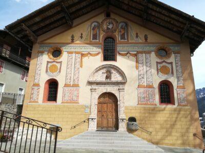 Eglise Saint-Jacques d'Assyrie, Hauteluce, Savoie © LB - Fondation Facim